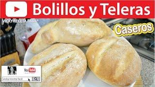getlinkyoutube.com-BOLILLOS CASEROS Y TELERAS   Vicky Receta Facil