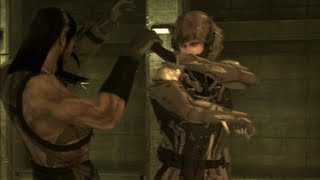 MGS4 Raiden kills Vamp HD (Fullscreen / No Gekkos)