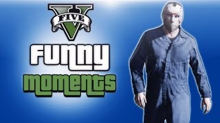 getlinkyoutube.com-GTA 5 Online Funny Moments Ep. 1 (Getting Laid, Stalking Vanoss, Flying Planes & Jets)
