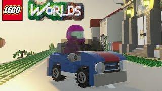 LEGO Worlds - Part 12 [Rowdy Rainforest - 50 Gold Bricks] - Xbox One Gameplay
