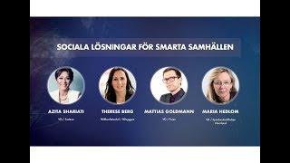 Grand18 - Panel: sociala lösningar för smart tillväxt