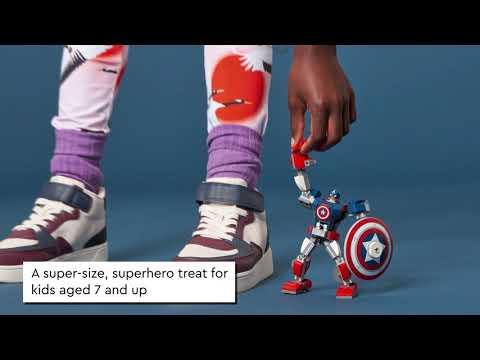 LEGO Marvel Avengers Classic Captain America Mech Armour - 76168