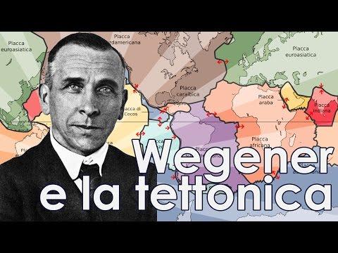 Wegener e la teoria della tettonica delle placche