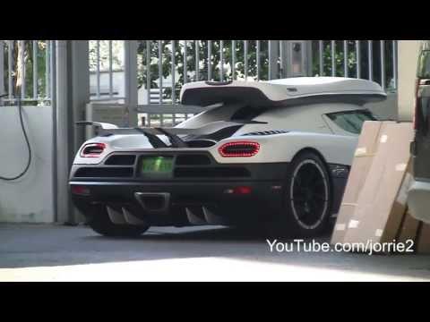Koenigsegg Agera R on the streets of Monaco! - 1080p HD