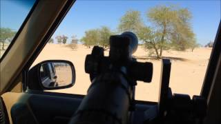 getlinkyoutube.com-Airgun Technology Vulcan Air Rifle 22 cal. First hunting long range 880 ft/s 18 gn