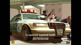 All GTA 4 Cheat Codes