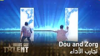getlinkyoutube.com-Arabs Got Talent -Dou and Zorg- عرض النصف نهائيات
