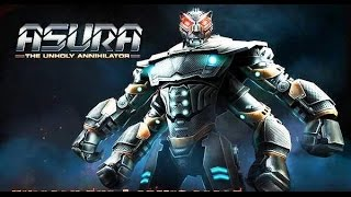 getlinkyoutube.com-Real Steel ASURA Series of fights NEW ROBOT (Живая Сталь)