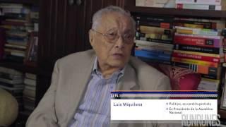 Entrevista exclusiva a Luis Miquilena
