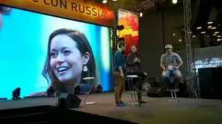 Summer Glau Panel #2 at Comic Con Russia