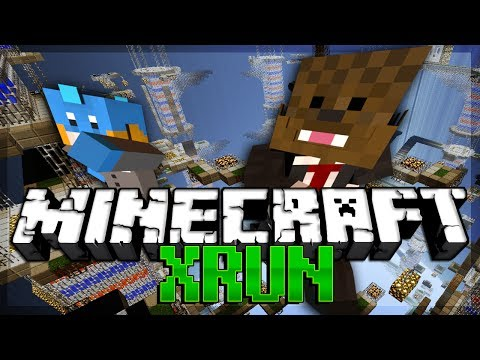 I KILLED DOGE Minecraft X-Run PARKOUR MINIGAME w/ HuskyMudkipz
