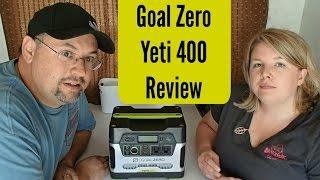 getlinkyoutube.com-RV Boondocking Accessory: Goal Zero Yeti 400 ~ Long Term Review