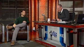 "getlinkyoutube.com-Actor Skylar Astin Talks ""Pitch Perfect 2"" in Studio - 5/15/15"