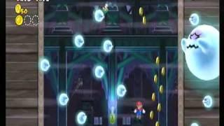 getlinkyoutube.com-New スーパーマリオブラザーズ Wii 7-お化け屋敷