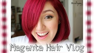 getlinkyoutube.com-Adore Magenta #88 Hair Vlog | CraftyAmy