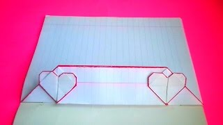 оригами конверт сердечко. идеи для личного дневника #14.// origami envelope for a personal diary