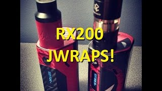 getlinkyoutube.com-Wismec Reuleaux RX200 Unboxing and DEADPOOL Jwrap tutorial