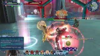 getlinkyoutube.com-Dcuo fire tank vs sorcery healer in duel Gu57