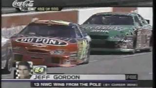 getlinkyoutube.com-Jeff Gordon Career Win #62 2003 Virginia 500 At Martinsville Finish