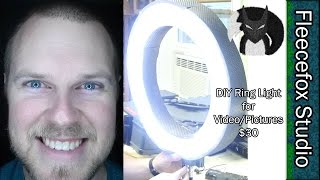 getlinkyoutube.com-DIY Ring Light for Video and Pictures