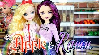 getlinkyoutube.com-DIY - Custom Doll: After Ever After High - Apple & Raven - FASHION - Handmade - Doll - Crafts