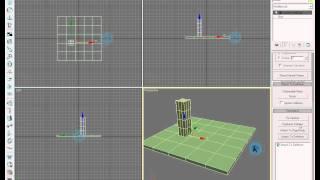getlinkyoutube.com-3d studio max tutorial: simple earthquake effect on pillar