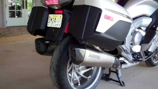 getlinkyoutube.com-New 2012 K1600 Akrapovic Exhaust  | 1.888.BMW.BOB'S | Maryland Motorcycle Dealer