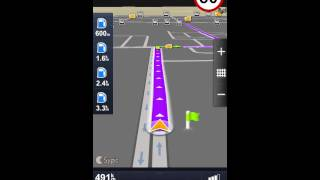 getlinkyoutube.com-شرح شامل لبرنامج الملاحة الشهير سايجك للايفون  sygic app.