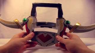 review - kamen rider blade dx chalice arrow