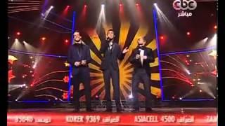 getlinkyoutube.com-أدهم نابلسى - إبراهيم عبدالعظيم - محمد الريفى - لو تعرفوا - The X Factor Arabia