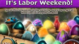getlinkyoutube.com-Dragons: Rise of Berk - LABOR WEEKEND CELEBRATION! 2015!