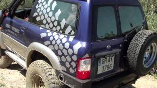 getlinkyoutube.com-Trial 4x4 Alhaurín el Grande (Nissan Patrol GR Y61)