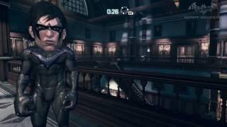 getlinkyoutube.com-Batman: Arkham City - Easter Egg #18 - Big Head Mode