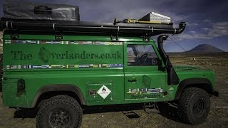 getlinkyoutube.com-Land Rover Defender Overland Camper Ep 1
