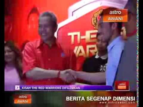 Majlis Pelancaran The Red Warriors The Movie