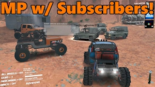 getlinkyoutube.com-Spin Tires MODDED MULTIPLAYER w/ Subscribers! | Rock Crawling at Moab
