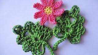 getlinkyoutube.com-ЛИСТОЧЕК LEAVES Crochet