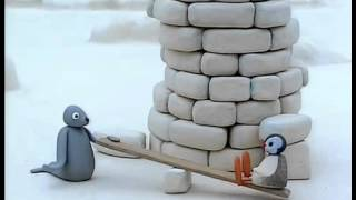 getlinkyoutube.com-097 Pingu Builds a Tower