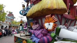 getlinkyoutube.com-Disney Magic On Parade! October 2015. Disneyland Paris