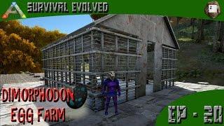 getlinkyoutube.com-ARK: Survival Evolved - Dimorphodon Egg Farm - Series Z - EP-20