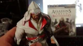 getlinkyoutube.com-Assassin´s Creed Ezio Auditore figura bootleg