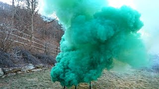 getlinkyoutube.com-Airsoft Smoke Grenade Test - Burst Smoke Grenades
