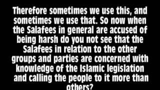 MUST SEE!! Shaikh al-Albani: Harshness among the Salafees