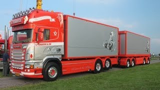 getlinkyoutube.com-Verbeek Scania R730 V8 @ Lopik 2011 Truck Festival