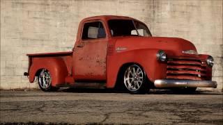"getlinkyoutube.com-""Hot Chicken"" Slam'd 1951 Chevrolet 3100 Hot Rat Street Rod Pro Touring Muscle Truck FOR SALE"