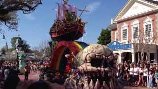 getlinkyoutube.com-Festival of Fantasy Parade - Walt Disney World - March 9, 2014