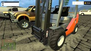getlinkyoutube.com-Farming Simulator 2015- Hauling equipment in America! EP3PT2