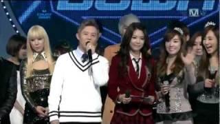 getlinkyoutube.com-[111110] SNSD 少女時代 - The Boys 5th Win [Today's Winner @ M! Countdown]