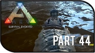 "getlinkyoutube.com-ARK: Survival Evolved Gameplay Part 44 - ""RIDING OUR OWN CROCODILE/SARCO"""