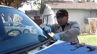 getlinkyoutube.com-Windshield replacement by Lo Auto Glass Repair, Stockton CA